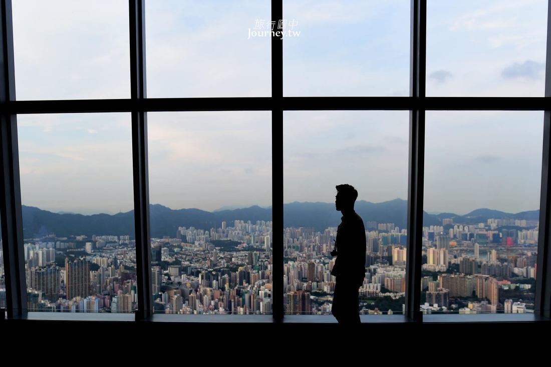 香港,香港景點,香港觀景台,九龍,天際100