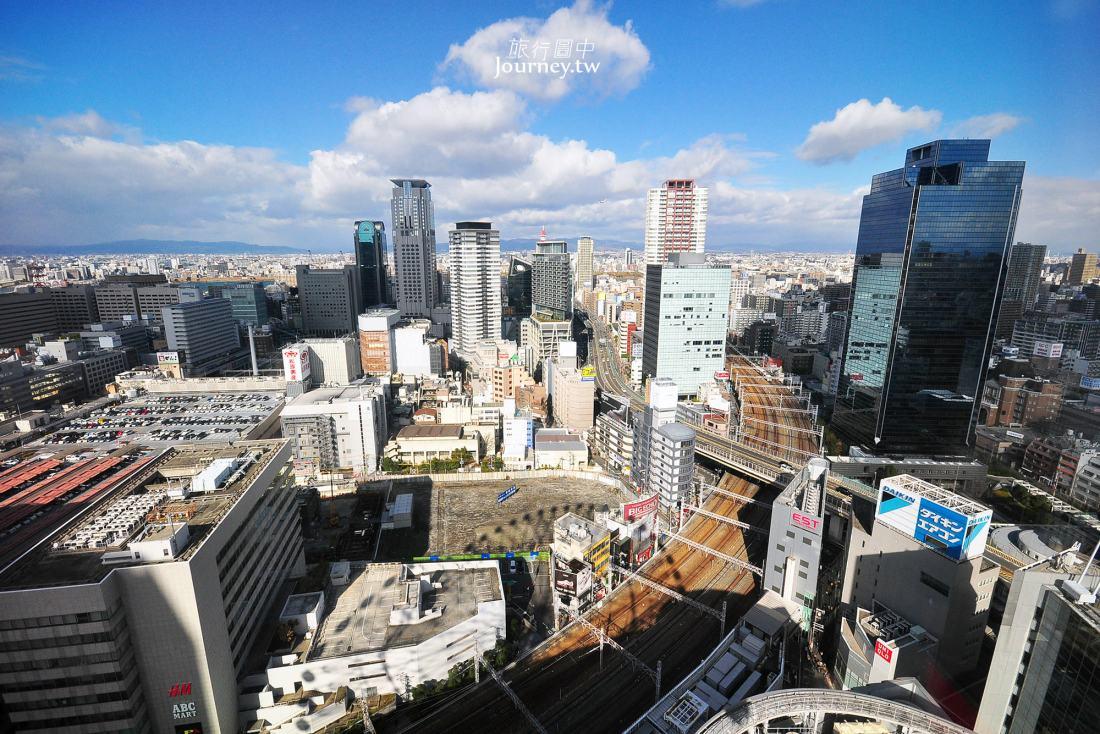 日本,大阪,大阪景點,梅田,HEP FIVE,摩天輪,大阪夜景