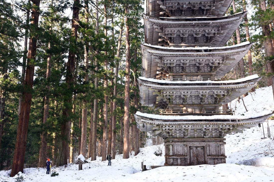 日本,山形,鶴岡,羽黑山,五重塔