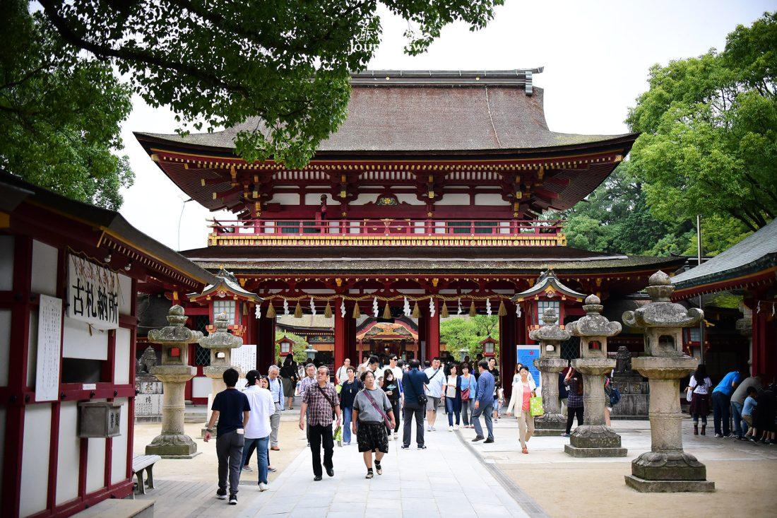 日本,九州,福岡,福岡景點,太宰府,天滿宮,西鐵電車