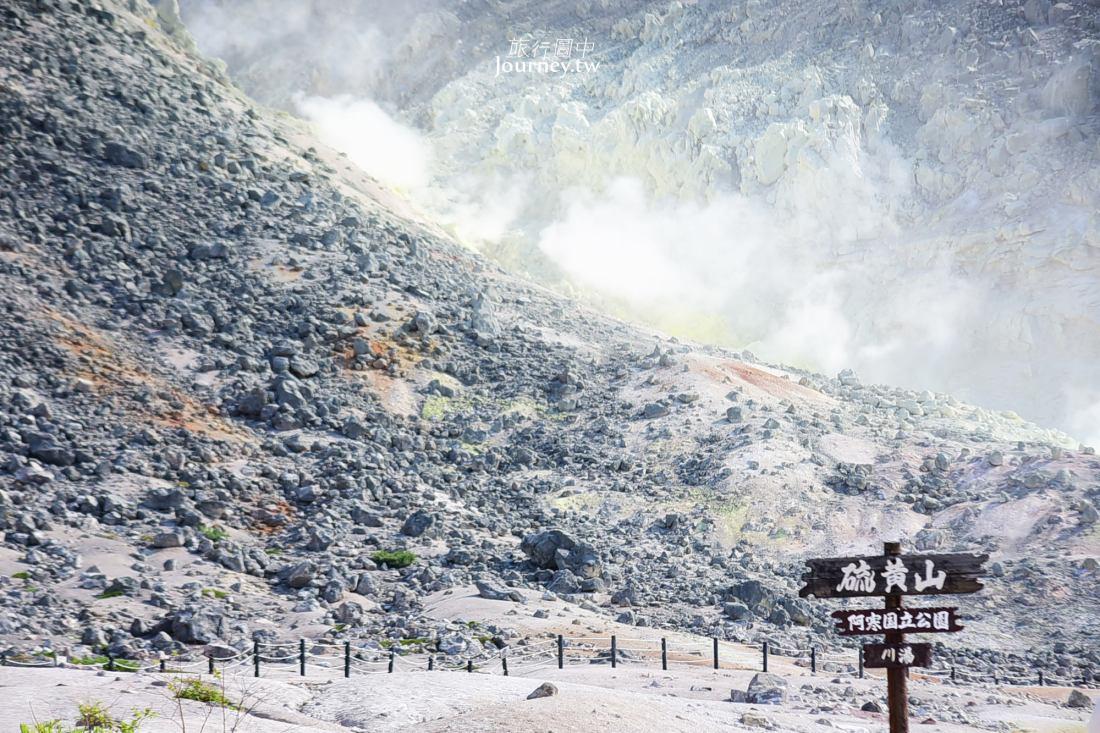 硫磺山,北海道,北海道景點,道東,阿寒國立公園,阿寒湖,摩周湖