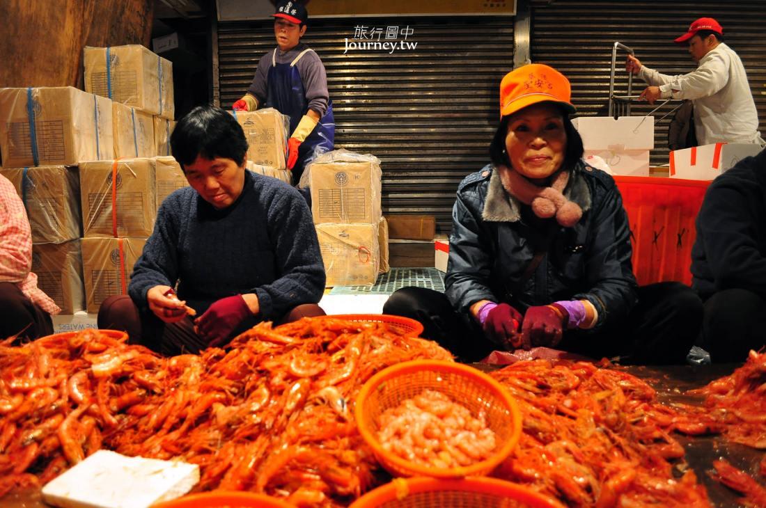 基隆,仁愛,崁仔頂魚市