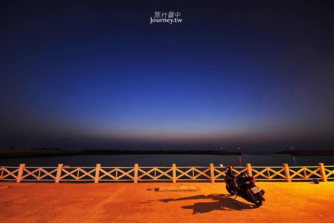 高雄,彌陀,彌陀漁港,夜景