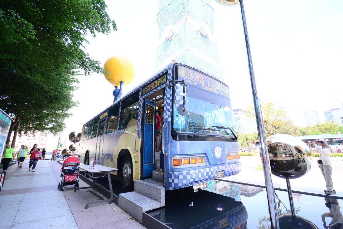 台北,信義,幾米月亮公車