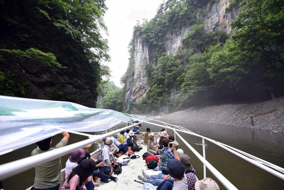 日本,東北,岩手,一關,猊鼻溪遊船