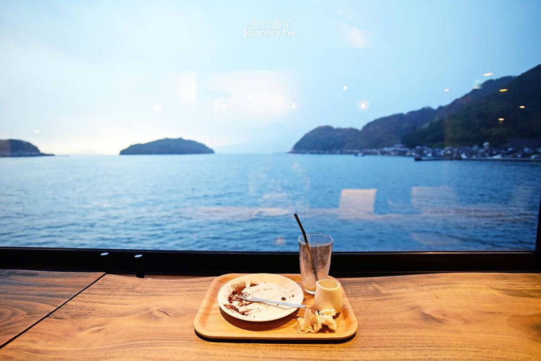 京都,伊根,舟屋日和,咖啡廳