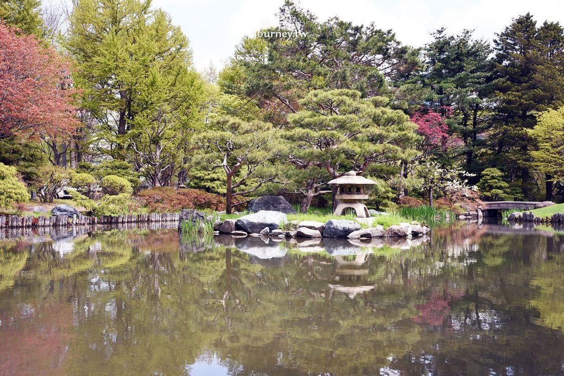 北海道,札幌,中島公園,春天,夏天,秋天,冬天