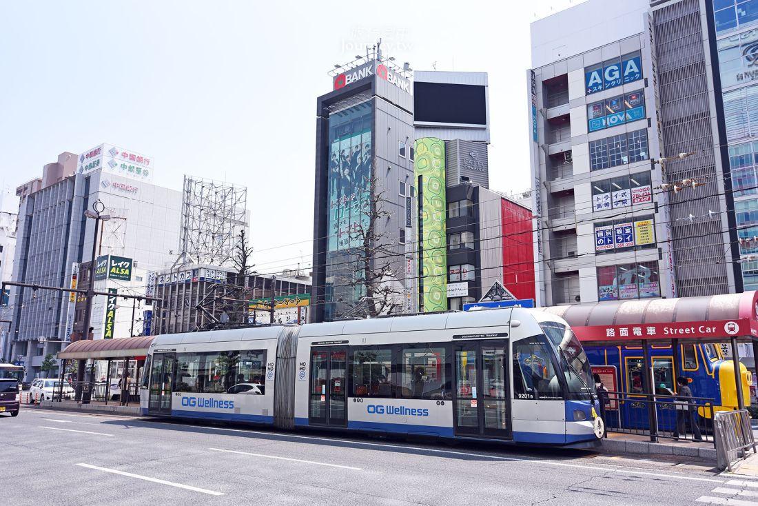 岡山,路面電車,景點,路線,搭乘方式