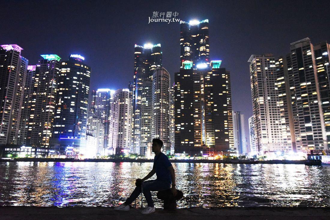 韓國,釜山,釜山景點,釜山夜景,海雲台,The Bay 101