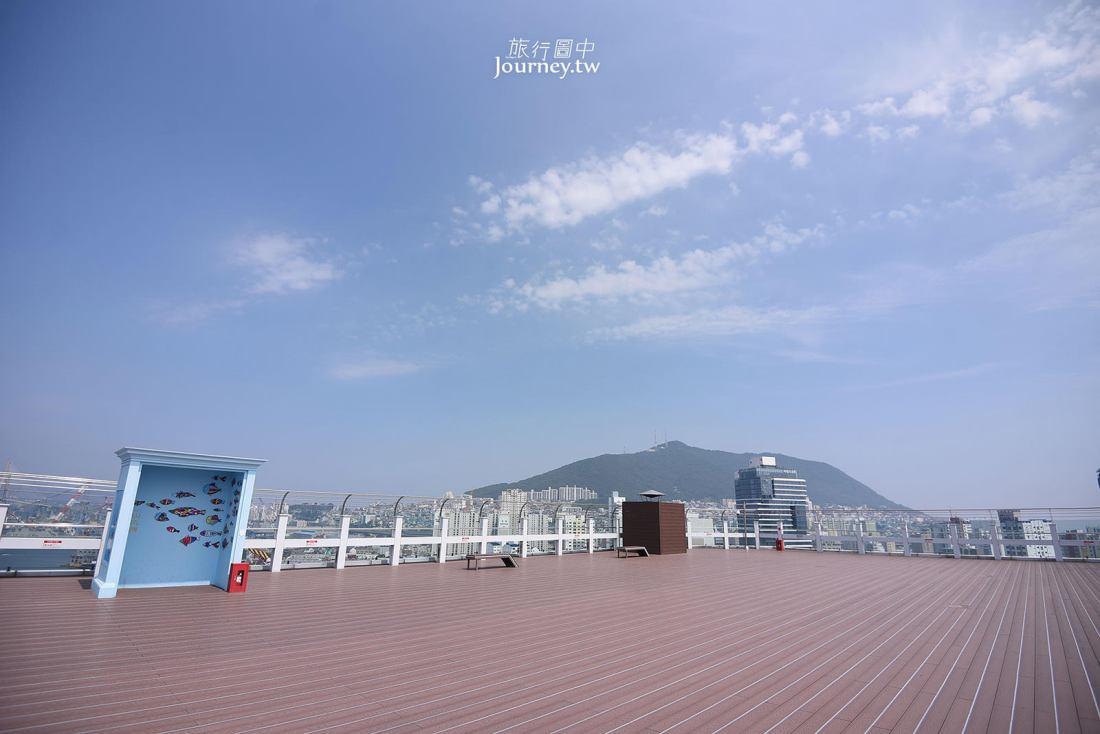 韓國,釜山,影島大橋,樂天百貨,展望台,Sky park,釜山景點,釜山自由行