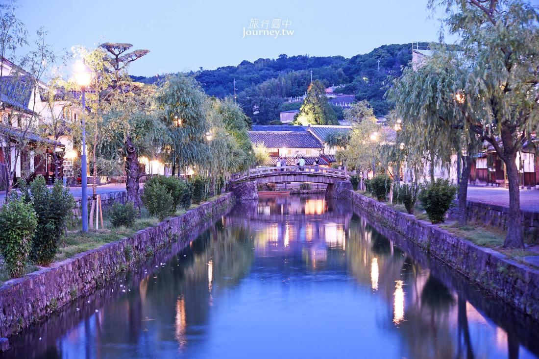 倉敷景點,岡山自由行,倉敷美觀地區,交通,景點,夜景,住宿