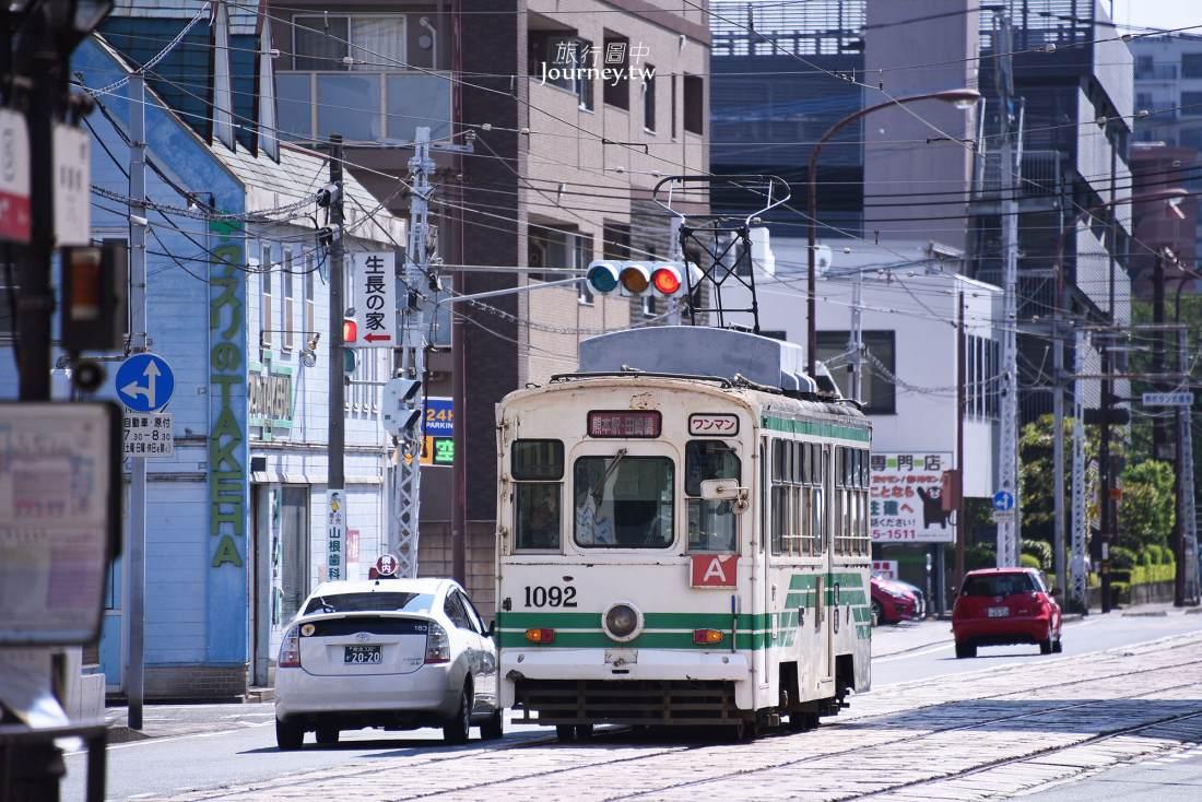 熊本電車,景點,路線,搭乘方式,一日券,熊本城