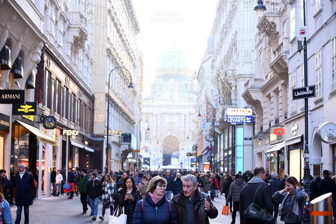 歐洲,Austria 奧地利,奧地利自由行,奧地利景點,Vienna 維也納,維也納景點,維也納自由行,維也納購物,格拉本大街,Graben Str,克恩滕大街,Karntner Str.
