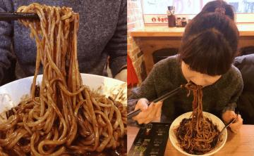 「韓國首爾。明洞美食」홍콩반점0410+黑嚕嚕炸醬麵 ♥ 小Connie愛夢遊。食記