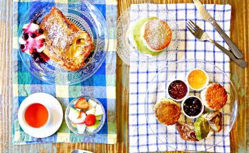 早餐室(悄悄好食)♥♥ 台北第一手作司康 多口味英式鬆餅 爆漿法式吐司 抹茶甜點 ♥ Joyce食尚樂活。食記
