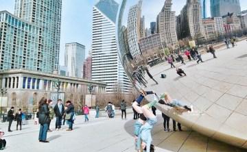 [美國芝加哥-景點推薦]沒來朝聖千禧公園 Millennium Park別說來過Chicago ♥『豆豆 Cloud Gate』必玩必拍的大魔豆 ♥ 小Connie愛夢遊。遊記