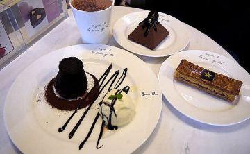[cafe] 新開幕♥ 全球首間agnès b. CAFÉ 巧克力咖啡概念店L.P.G. Da-an Chocolate Café (東區/大安旗艦店)♥ JoyceWu。食記