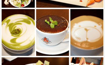 [cafe] Labu café♥♥ 超可愛法鬥陪你喝咖啡 特色拉花 盆栽可可 甜點 雙層下午茶 輕食 偶像劇場景 (東門站/永康商圈)二訪 ♥ JoyceWu。食記