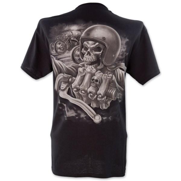 Lethal Threat Skull Crew Black T-Shirt | 161-509 | J&P Cycles