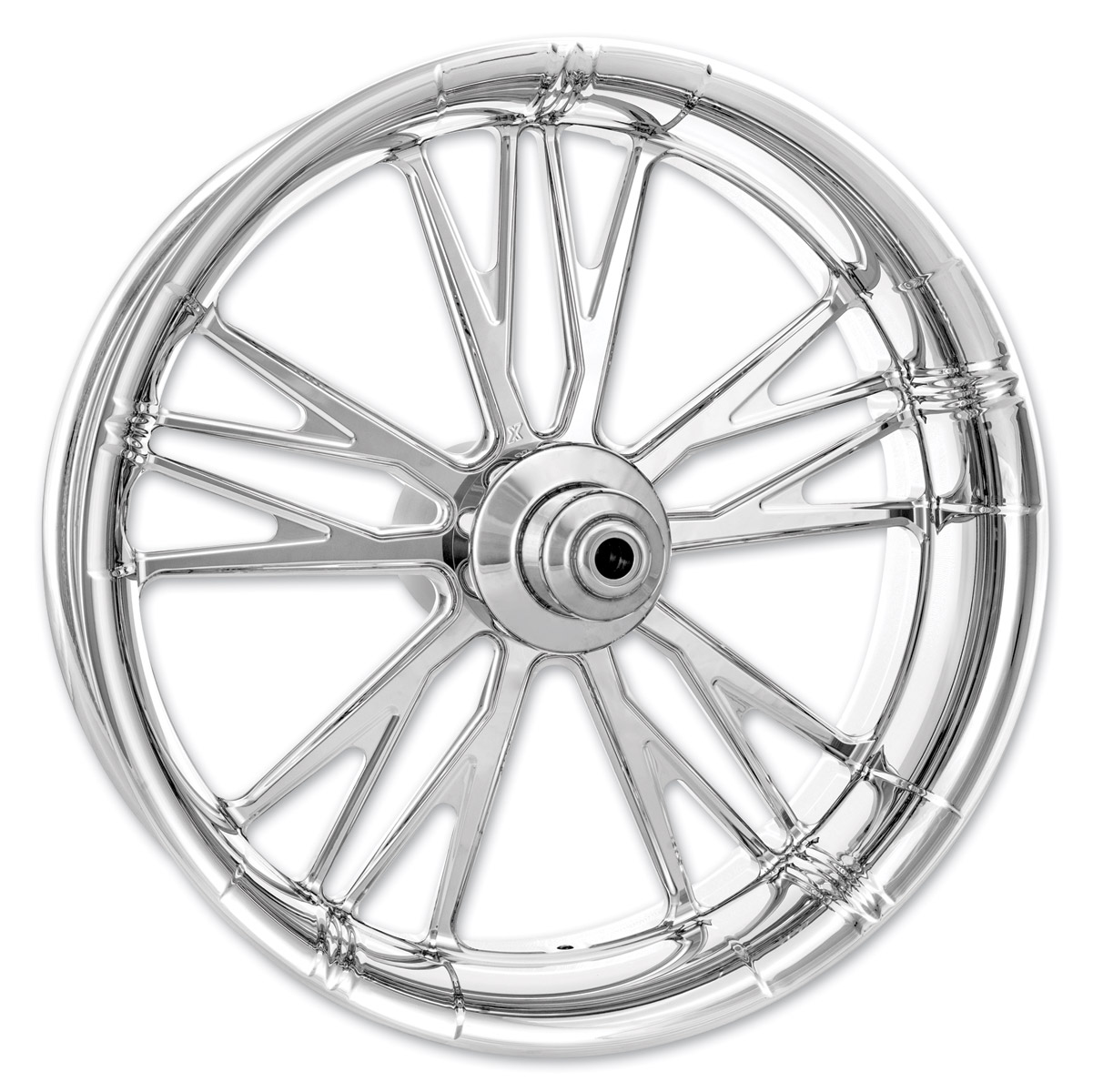 Xtreme Machine Chrome Forged Execute Front Wheel 23 X 3
