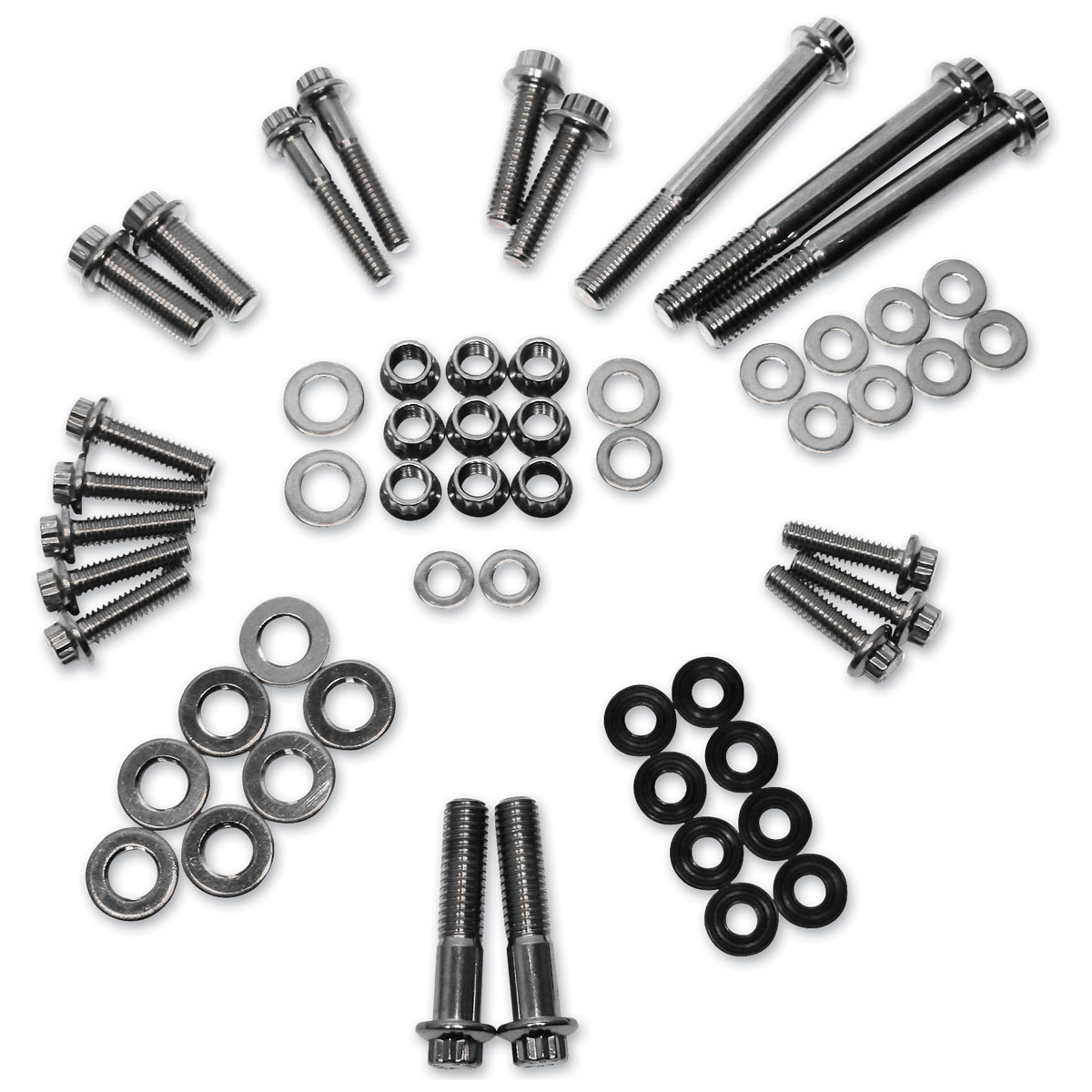 Feuling 12 Point Stainless Steel Engine Kit