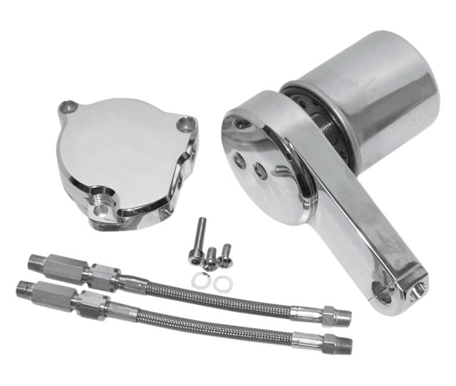 Baron Custom Accessories Oil Filter Relocation Kit