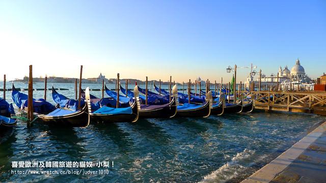 【義大利】:12/12Day5(上):威尼斯(道奇宮、聖馬可教堂、鳳尾船、墨魚麵)