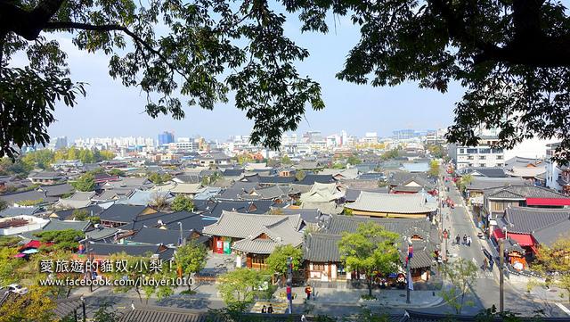 【韓國景點】全羅北道全州市\梧木台오목대,將全州韓屋村的美景,盡收眼底吧!