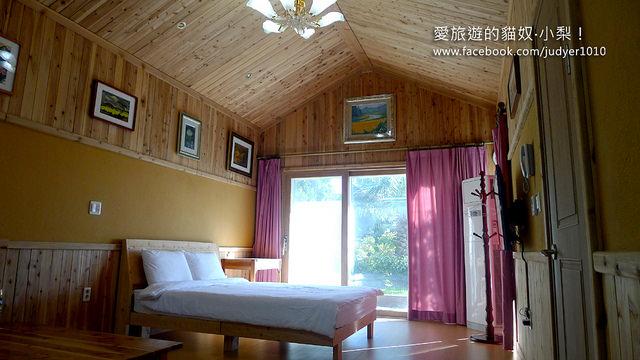 【濟州島住宿】:濟州回憶飯店 (Memory In Jeju Pension),超棒小木屋式獨棟飯店,夫妻、情侶的最佳首選!