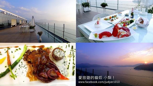 【南投美食】日月潭雲品酒店Fleur De Chine Hotel—雲月舫Sky Lounge,彷彿在仙境用餐!