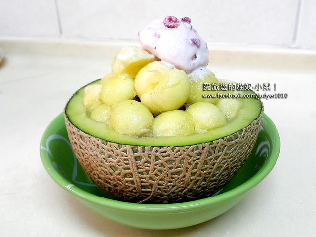 【韓國美食】自製韓國哈密瓜冰淇淋,不用大老遠飛韓國,自己在家DIY,省錢又好吃!