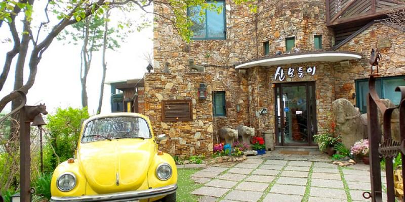 【咖啡王子一號店場景】付岩洞부암동/山末同一,超美的咖啡廳!(崔漢成的住處)
