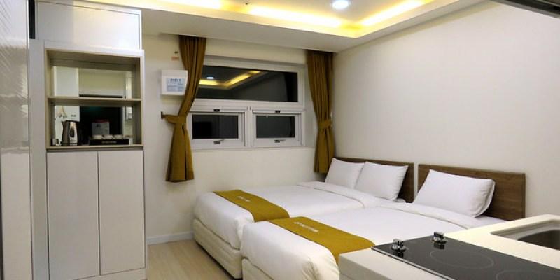 【首爾住宿】D7 Suites Residence,2014/9月全新開幕,近東廟站4、5號出口,交通便利!