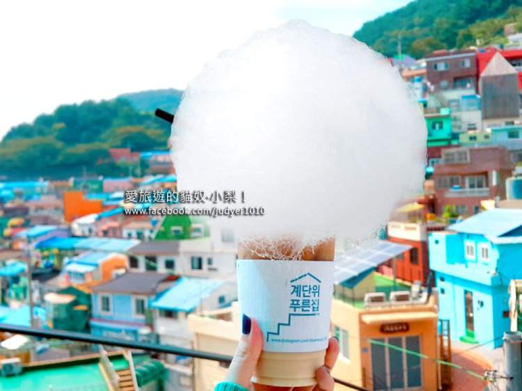 【釜山必去景點】甘川洞文化村\粉藍咖啡廳Blue House,圭賢MV取景地之一!