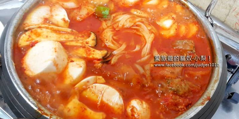 【釜山必吃美食】札嘎其站\故鄉泡菜鍋,白鐘元三大天王推薦,真的好好吃啊!