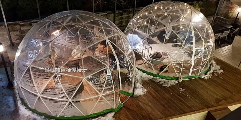 【韓國咖啡廳】首爾林站\cafe & other咖啡廳,冬天在帳篷裡彷彿等著看極光(夏季是游泳池)!