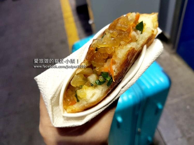 【韓國美食】南大門市場必吃美食之蔬菜煎餅~
