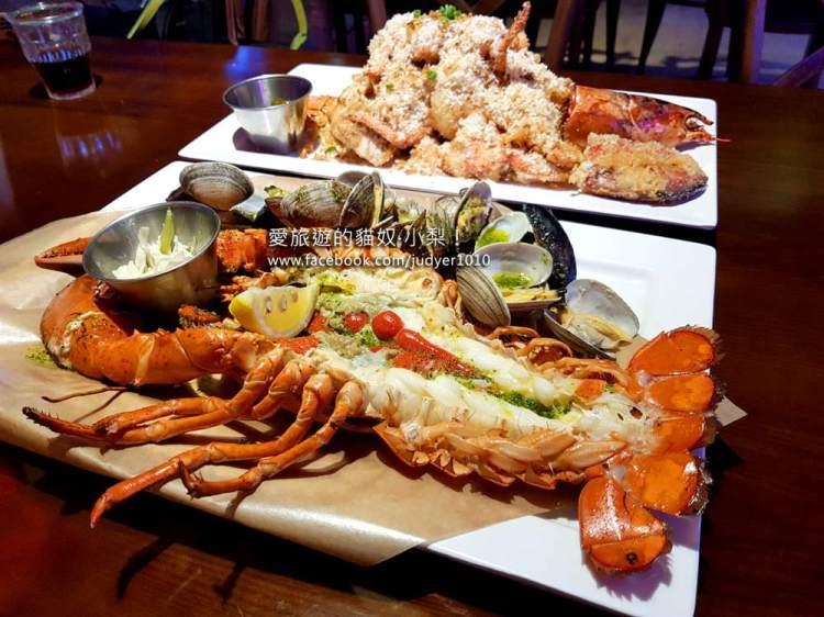 【韓國必吃】弘大美食\新鮮又大隻的龍蝦,超好吃!(也有帝王蟹)