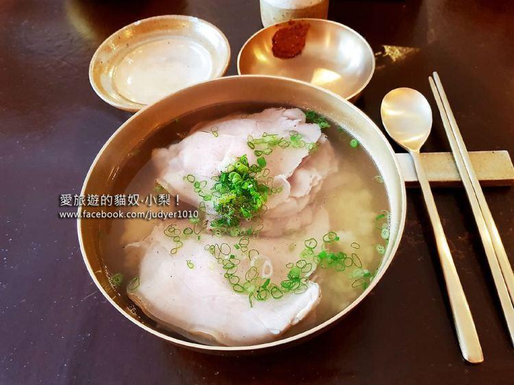 【弘大必吃美食】合井站\屋同食(豬肉湯飯),2018首爾米其林指南推薦餐廳!