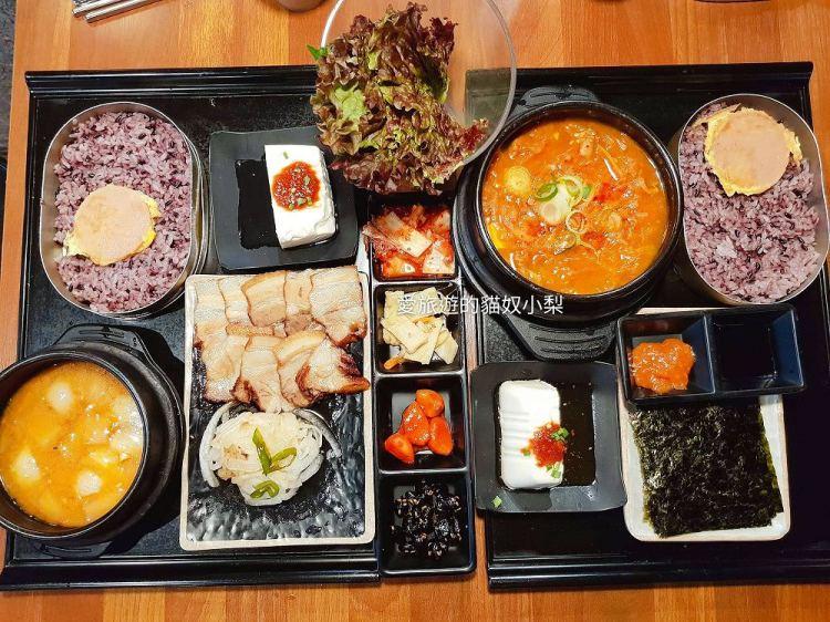 弘大美食\文淑水芹餐館,一個人就能大口享用的韓國家常美食餐廳!