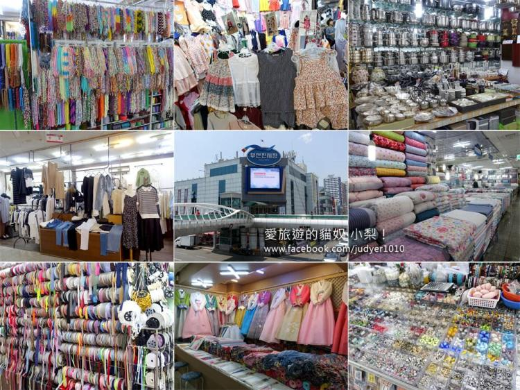 釜山鎮市場\位於凡一站的釜山最大型的綜合傳統商場,手工藝控的天堂!