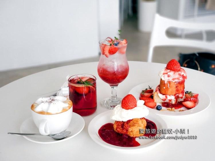 梨泰院解放村咖啡廳\Nomantic咖啡廳,草莓吐司神好吃!
