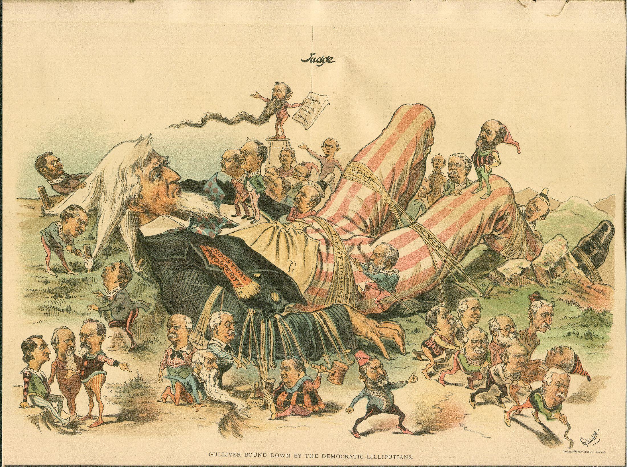 Resultat d'imatges de Gulliver in lilliput