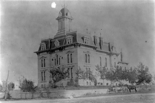 Chase County Courthouse, Cottonwood Falls, Kansas