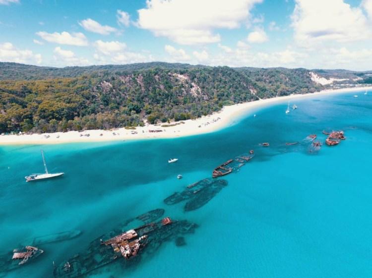旅行的一百種心情 我把潛水相機落在摩頓島上