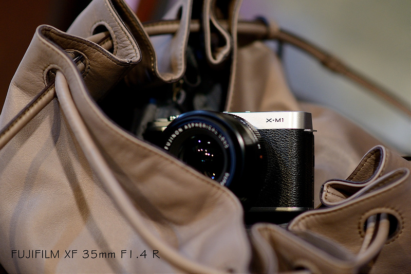 攝影器材使用心得   Fujifilm XM1 + XF 35mm  F1.4