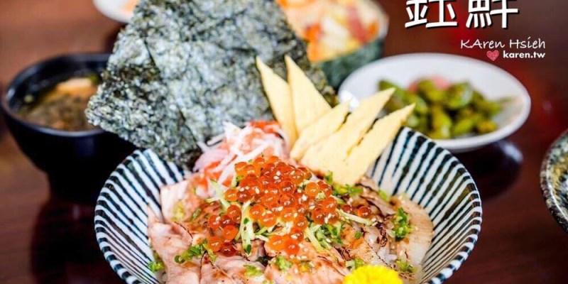 日本料理   台中北屯區  鈺鮮創意日式料理。超值丼飯,新鮮又澎湃 (二訪)
