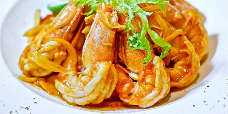 台中義式餐廳   大花朵朵主題餐廳。鮮蝦番茄義大利麵好吃又貼心,夜晚用餐氣氛浪漫又溫馨,更是一間寵物友善餐廳。
