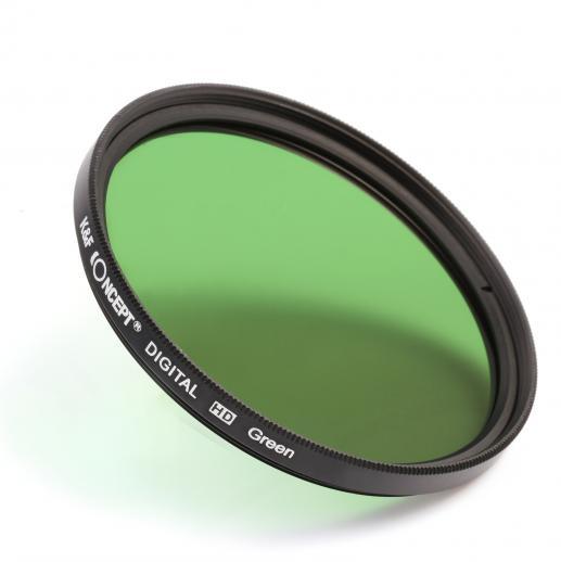 K&F Concept 67mm Color Filter Set (Orange, Blue, Grey, Red ...