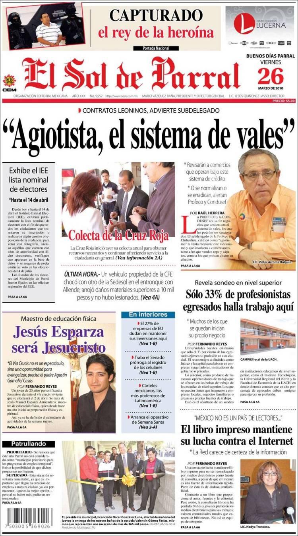 Parral Ultimas Noticias Chihuahua